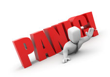Business panic Royalty Free Stock Images