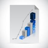 Business paper documentation illustration design Stock Images