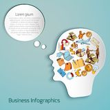 Business Paper Head Stock Photos