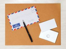 Business papery mockup Stock Photography