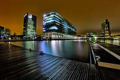 Business Park di Keilaniemi in Espoo, Finlandia Foto presa nel 2017 immagine stock libera da diritti