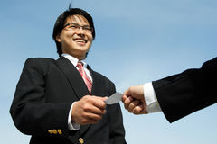 Business partner royalty free stock photos
