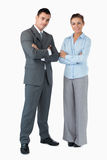 Business partner with arms folded Stock Photos