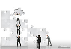 Business partner work together stock images