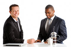 Business partners Royalty Free Stock Images