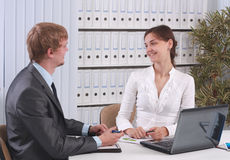 Business partners Stock Photography