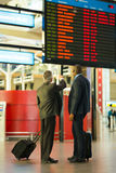 Business partners airport Stock Images