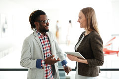 Business partners come to agreement Royalty Free Stock Image