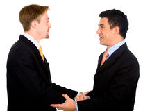 Business partners deal Royalty Free Stock Images