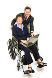 Business Partners - Disability Royalty Free Stock Photography
