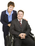 Business Partners - Disability Stock Images