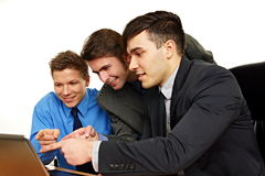 Business partners discussing Stock Images