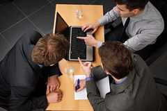 Business partners discussing Stock Photo