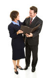 Business Partners Full Body Royalty Free Stock Image