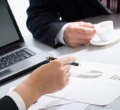 Business partners hands Stock Photos