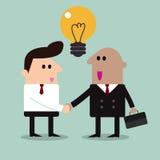 Business partners handshaking Royalty Free Stock Image