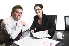 Business partners - isolated Stock Photos