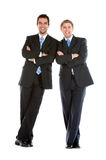 Business partners isolated Stock Photo