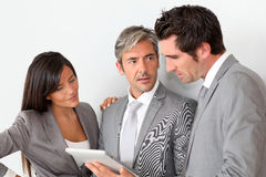 Business partners in a meeting Stock Images