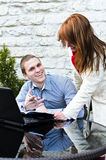 Business partners meeting Royalty Free Stock Photo