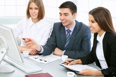 Business partners Royalty Free Stock Photos