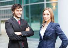 Business partners Stock Photo