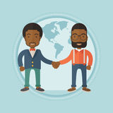 Business partners shaking hands. Stock Photography