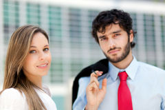 Business partners Royalty Free Stock Photo