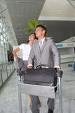 Business partners travelling Royalty Free Stock Photo