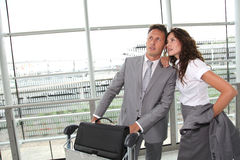 Business partners travelling Royalty Free Stock Photography