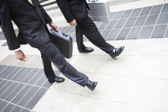 Business Partners Walking Together Stock Photography