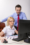 Business partners at work Stock Photography