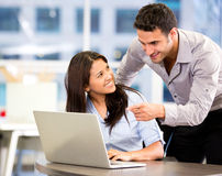 Business partners working Stock Images