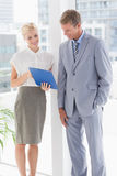 Business partners working together Royalty Free Stock Photos