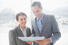 Business partners working together Royalty Free Stock Image