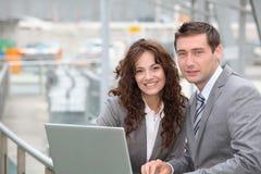 Business partnership Stock Images