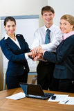 Business partnership Royalty Free Stock Photos