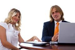 Business partnership Royalty Free Stock Photos