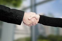 Business partnership concept Stock Image