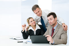 Business partnership and cooperation Royalty Free Stock Photography