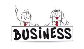 Business partnership royalty free stock photography