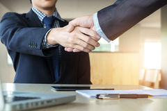 Business Partnership Meeting Concept. Images Of Business People Royalty Free Stock Image