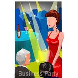 Business party Royalty Free Stock Photos