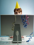 Business party royalty free stock image