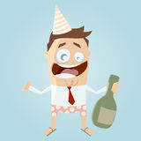Business party man Royalty Free Stock Photo