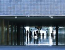 Business passenger walk Stock Images