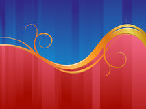 Business pattern. Blue and red business pattern Royalty Free Stock Photo