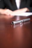 Business pen Royalty Free Stock Photography