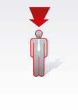 Business Peolple Series royalty free illustration
