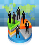 Business people. Illustration of business team.Very useful business concept Royalty Free Stock Photo